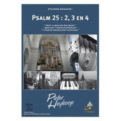 Psalm 25 : 2, 3 en 4